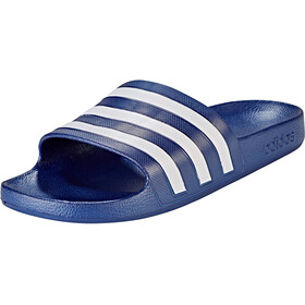 adidas Adilette Aqua Slides Men, dark blue/ftwr white/dark blue